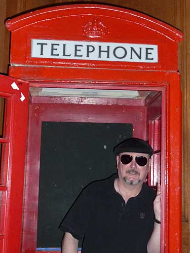 Bill Lyerly British Phonebooth